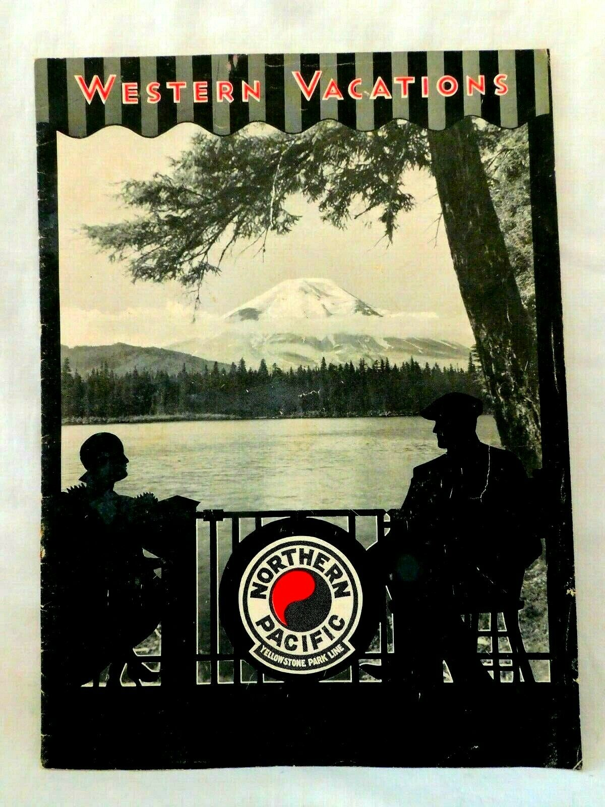 Vintage Northern Pacific Yellowstone Park Line Western Vacations Booklet
