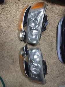 1999-2007.5 GMC Denali headlights and marker lights
