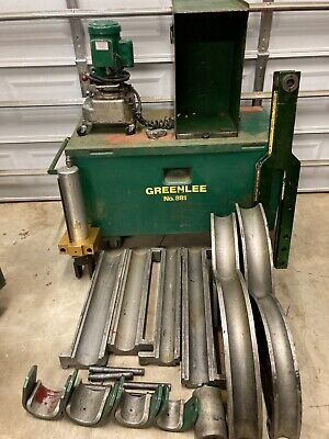 Greenlee 881 Conduit Pipe Bender 2.5-4 Emt Rigid Imc W960 Pump Ed4u 8184