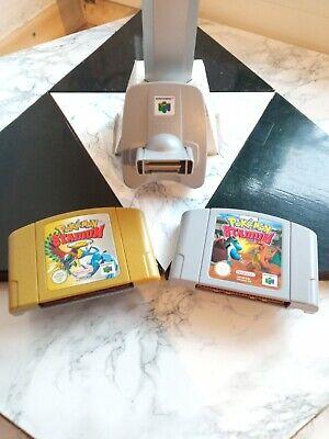 Pokémon Stadium 1 und 2 (Nintendo 64, 2001) + Transfer PAK