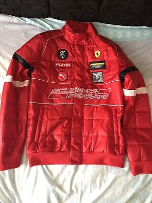 Puma Ferrari Jacket Red Size Medium Used (looks new)