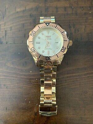 Invicta Grand Diver Gold W/Case