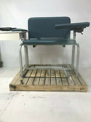 Clinton Sc Series Extra-wide Padded Blood Drawing Chair With Drawer