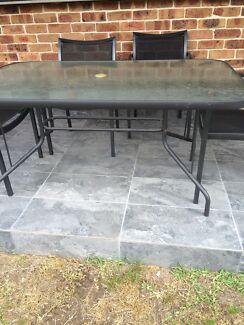 Glass top table  Sandringham Rockdale Area Preview