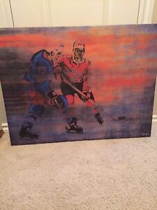 Hockey Picture on Canvas