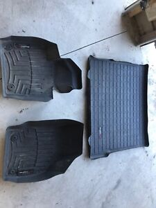 Audi Q3 WeatherTech winter mats and trunk mat