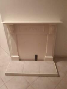 Fireplace - back to the wall gas fire surround