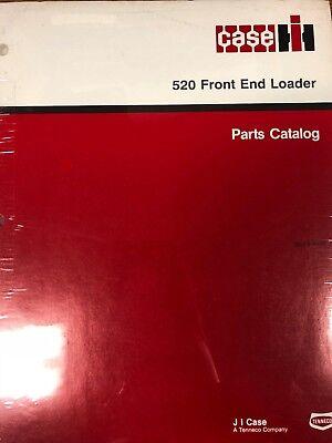 Case Ih 520 Front End Loader Tractor Parts Catalog