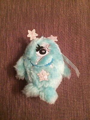 "NEW Cosmic Zowie Claires Girls Key Chain 4"" Cute Mint Color Soft Plush NWT"
