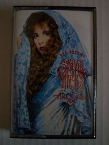 Cassette-Audio-Tape-STEVIE-NICKS-034-Time-Space-The-Best-Of-034-13-tracks-EMI-1991