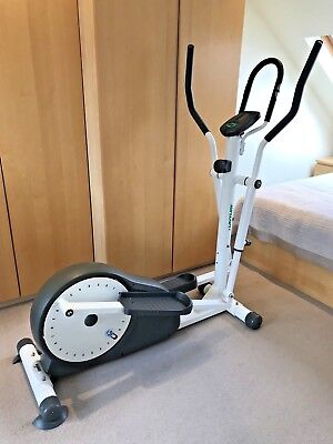 TUNTURI Elliptical CROSS TRAINER Home Gym Fitness Exercise Bike Machine WHITE