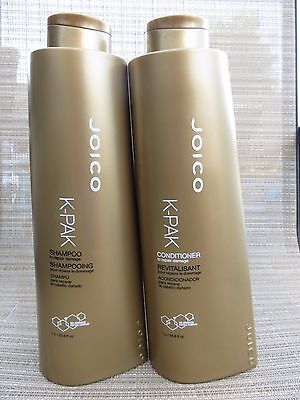 Joico K Pak Shampoo and Conditioner 33.8 oz DUO LITER each FREE SHIPPING