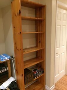 MOVING SALE! Bookcase, CD Rack, Filing cabinet