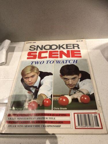 snooker scene magazine August 1995