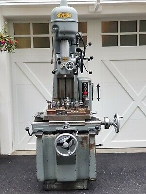 Moore No. 1-12 Precision Vertical Jig Borer Mill Milling Machine Fully Tooled
