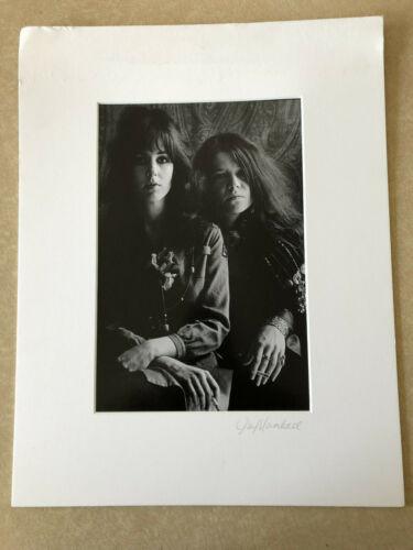Jim Marshall original photograph, Janis and Grace  11 X 14
