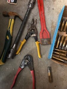 Some tools for sale
