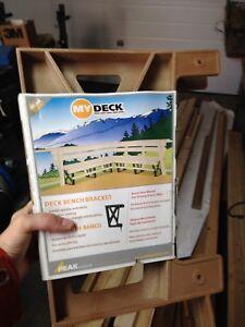 Deck Bench brackets (3)