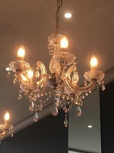 Clear chandeliers Oatley Hurstville Area Preview