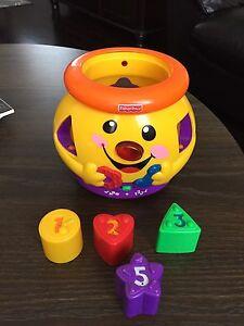 Fischer Price Cookie Jar Shape Sorter