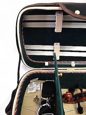 New Designed 4/4 Pro. Enhaced Wooden Violin Case + free violin string