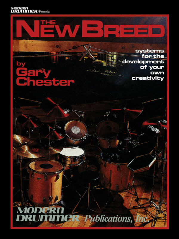 The New Breed Revised Drum Lessons Learn How to Play Music Book & Online Audio