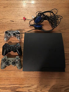 Excellent condition 320Gb's PS3 with games and accessories