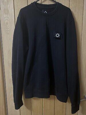 Ma Strum Black Training Crewneck Sweatshirt for sale  Shipping to Ireland