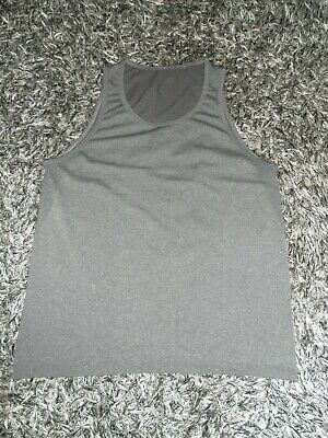 Lululemon Men's M/Medium Metal Vent Tech Grey Sleeveless Tank