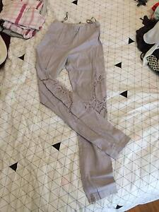Alice McCall embroidered pants Melbourne CBD Melbourne City Preview