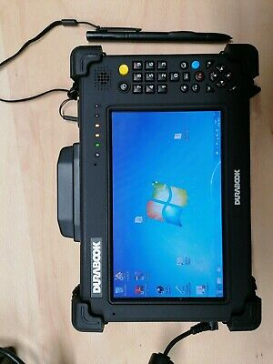 Durabook E+T7MD1 Ultra-Rugged Tablet. 7 Inch Display, Windows 7. for sale  Shipping to Nigeria