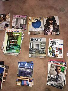 Magazines - Vogue Living, Vogue, Vanity Fair, Bazaar etc... Beaconsfield Fremantle Area Preview