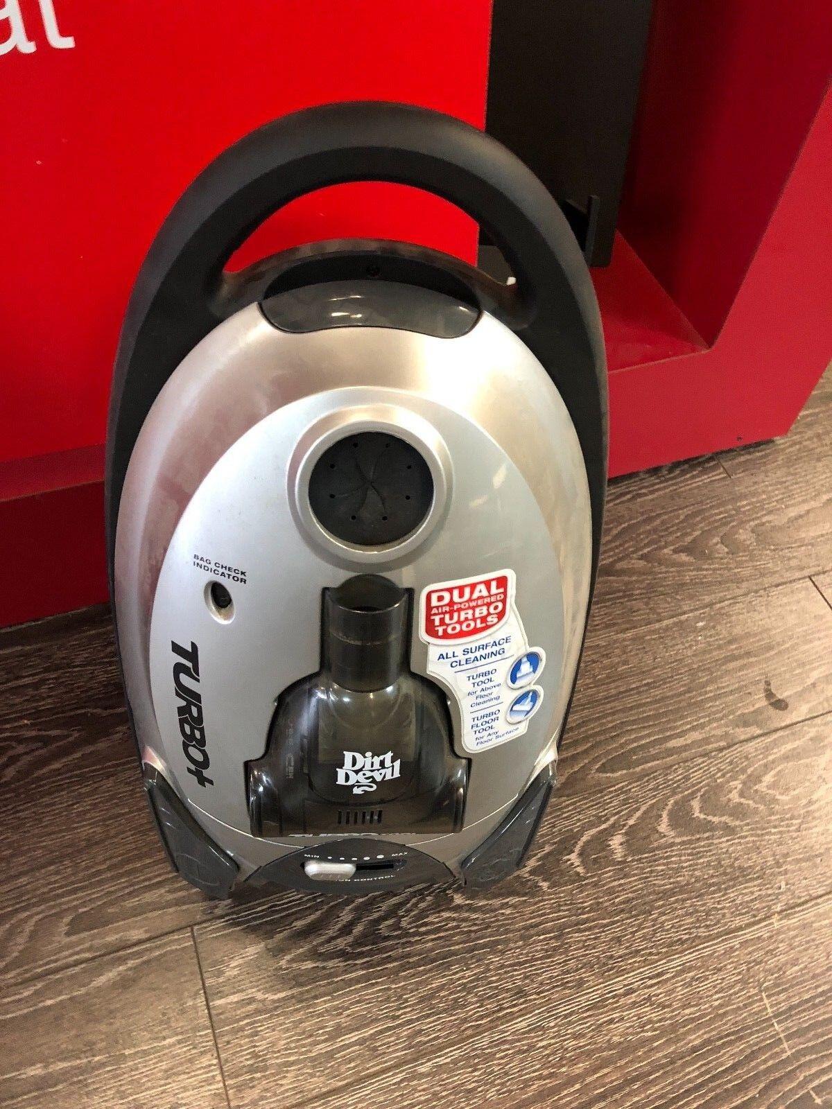 Dirt Devil Turbo Canister Vacuum Cleaner  SD30050!