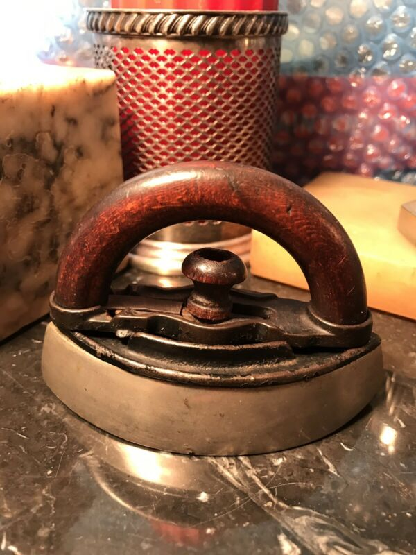 Rare Antique Salesman Sample Collar Iron