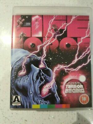 Lifeforce Blu-ray (2013) Steve Railsback, tobe Hooper, Arrow release