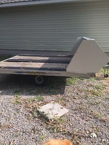 8.5 x10 Snowmobile Trailer