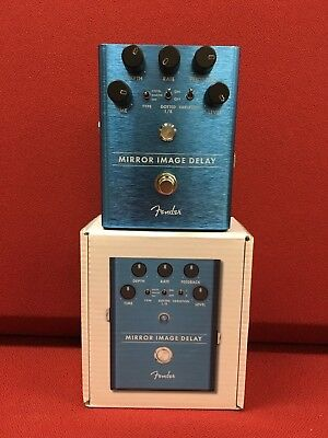 Fender Mirror Image Delay Guitar Effects Pedal! Super Clean