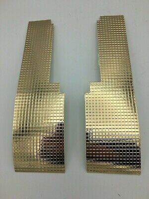 Gold Foil Mylar Sticker Decal Northwestern Super 60 M60 Gumball Candy - Gold Gumballs