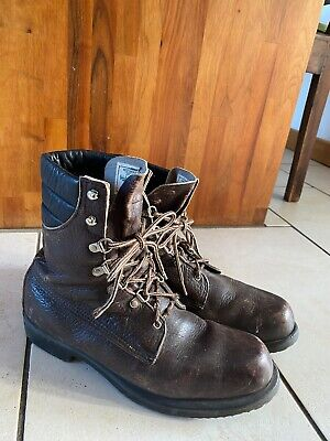 Red Wing Shoe Irish Setter Sport Boot Vintage 859 Brown Leather 29121 Size 13 D