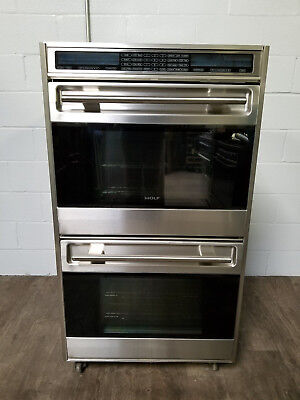 """Wolf 30"""" Built-In L Series Double Oven - DO30U/S"""