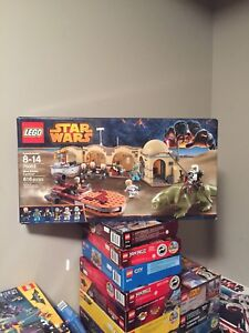 Lego Star Wars 75052 mos elsley cantina set complete box books