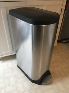 Simple Human 30 Litre Trash Can!
