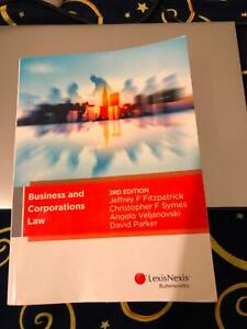 Business and corporations law 3rd Edition book (New)