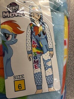 Mlp Pajamas (my little pony the movie one piece pajamas)