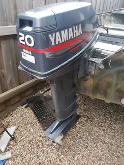 Yamaha 20hp long shaft for sale