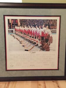TEAM CANADA 72 SUMMIT SERIES 1972 Autographed Signed by 35