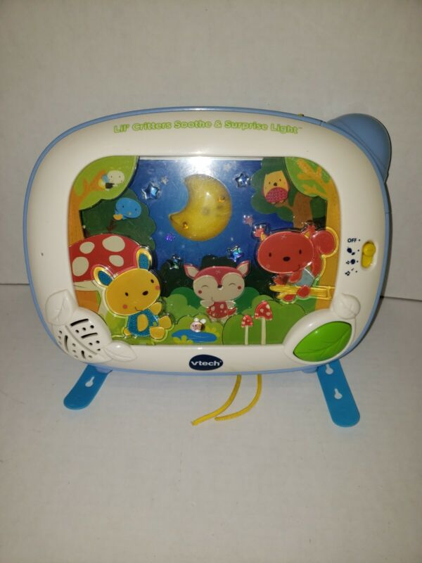 V-tech Baby Crib Soother Projector & Lights LIL