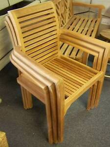 TEAK 3 PIECE OUTDOOR TABLE & BENCHS DINNING PACKAGE Kent Town Norwood Area Preview