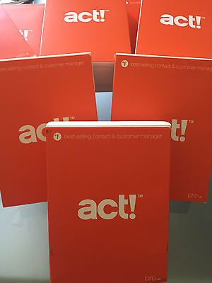 New Act  Pro V16  2014  Retail Box   1 User   3 Activations  Dvd