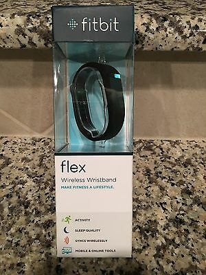 NEW Fitbit Flex Wireless Activity Wristband & Sleep Tracker Large & Small -Black